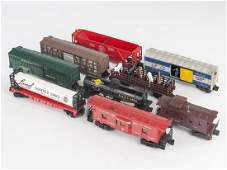 9 Lionel Rolling Stock Cars