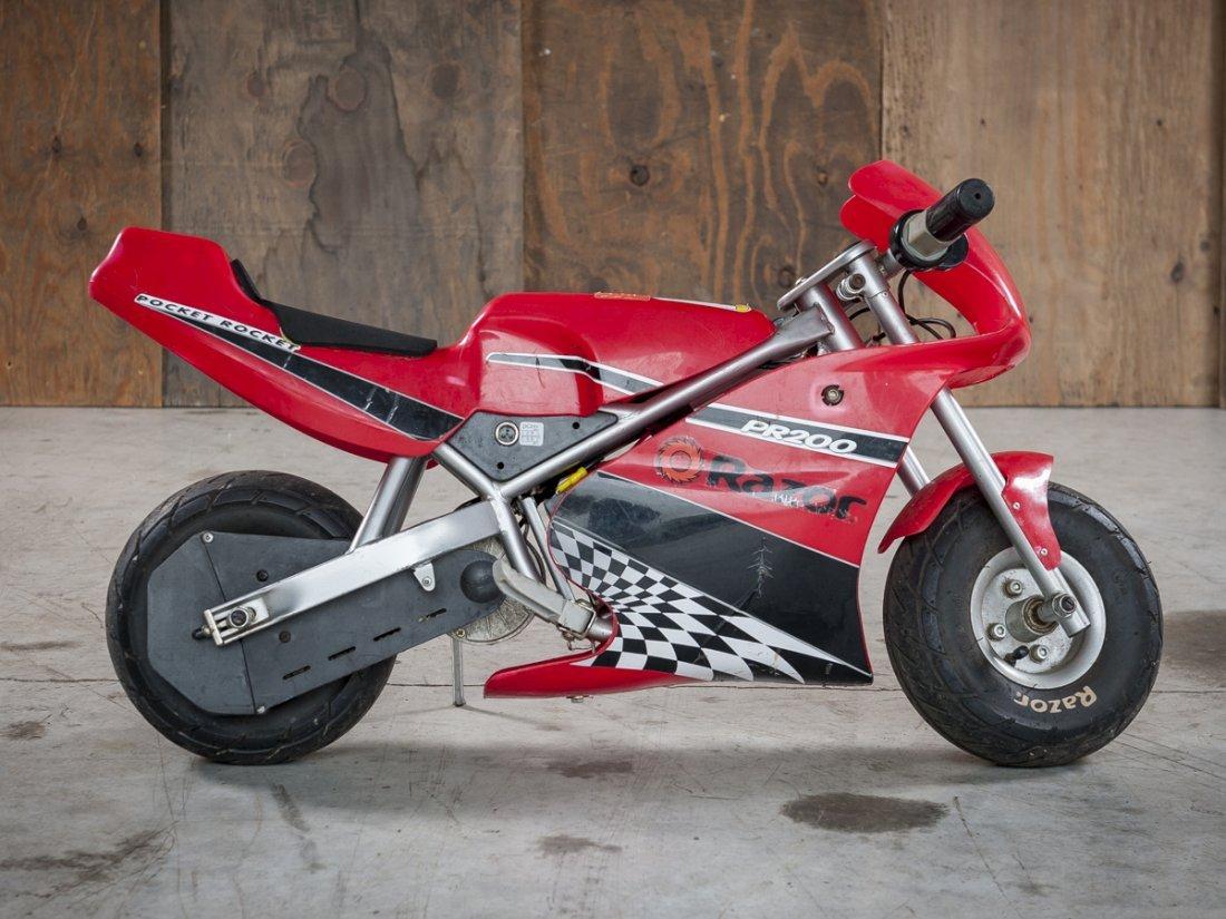 razor pr200 pocket rocket mini electric bike. Black Bedroom Furniture Sets. Home Design Ideas