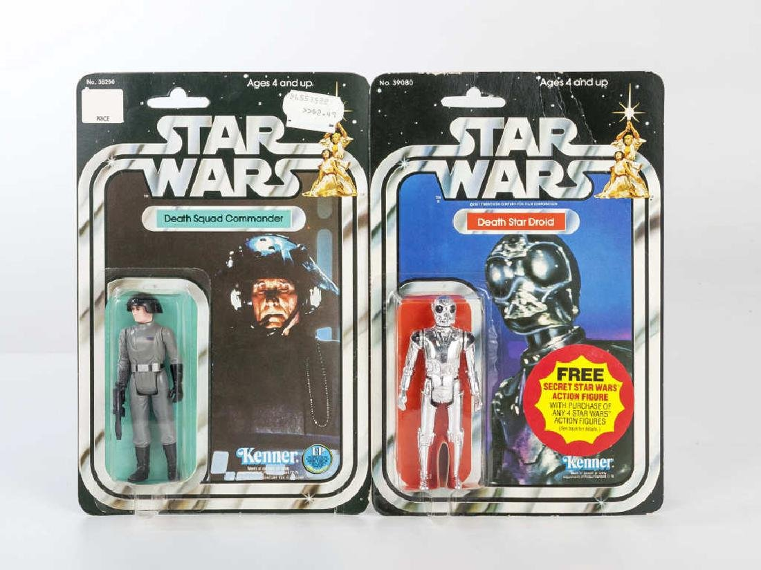 2 1977 Star Wars Figures MOC incl Death Star Droid