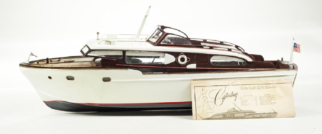 Assembled Sterling Chris Craft Corvette RC Boat