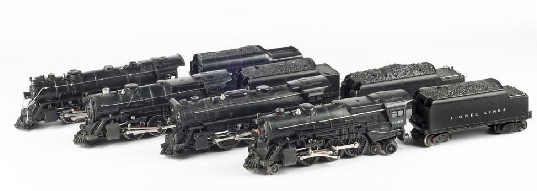 4 Lionel Engines & Tenders incl 2065