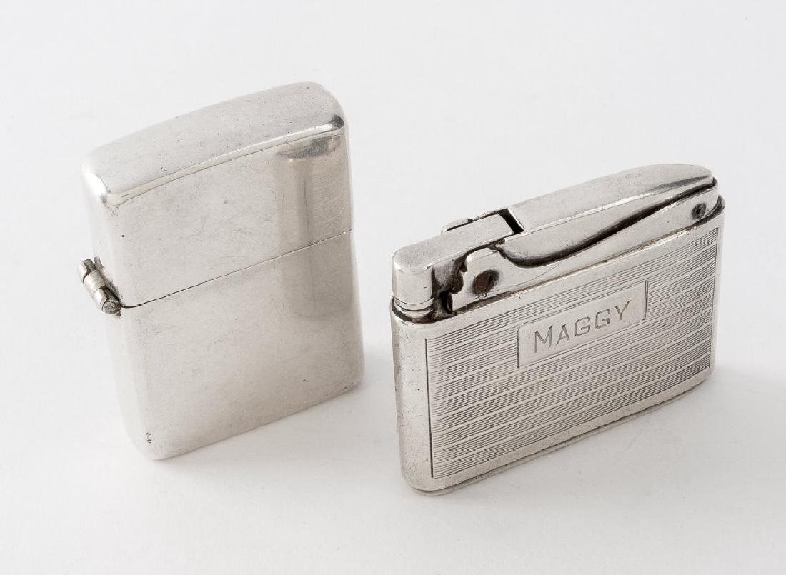 2 Sterling Silver Lighters