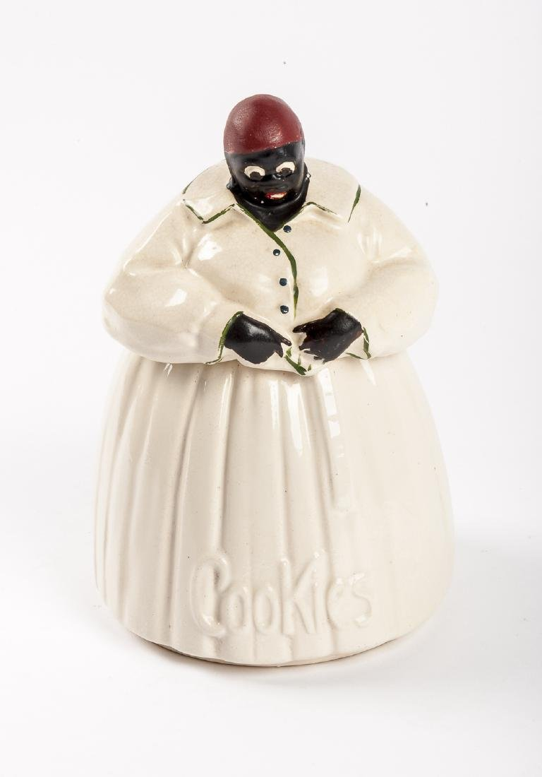 McCoy Black Americana Cookie Jar
