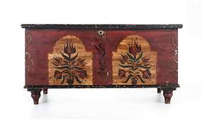 Clyde Stacks Decorated Blanket Chest