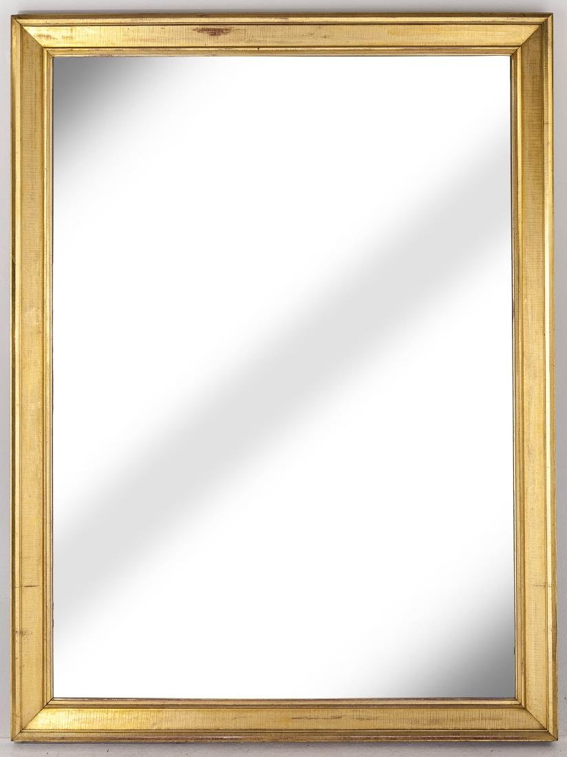 Large Empire Gilded Pier Mirror