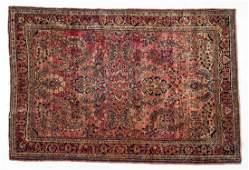 SemiAntique Persian Sarouk Area Rug