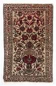 SemiAntique Persian Urn Area Rug