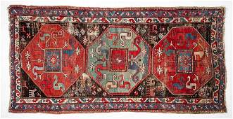 Semi-Antique Caucasian Area Rug
