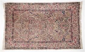 Semi-Antique Persian Kerman Area Rug