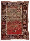 Antique Caucasian Prayer Rug