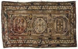Antique Caucasian Area Rug