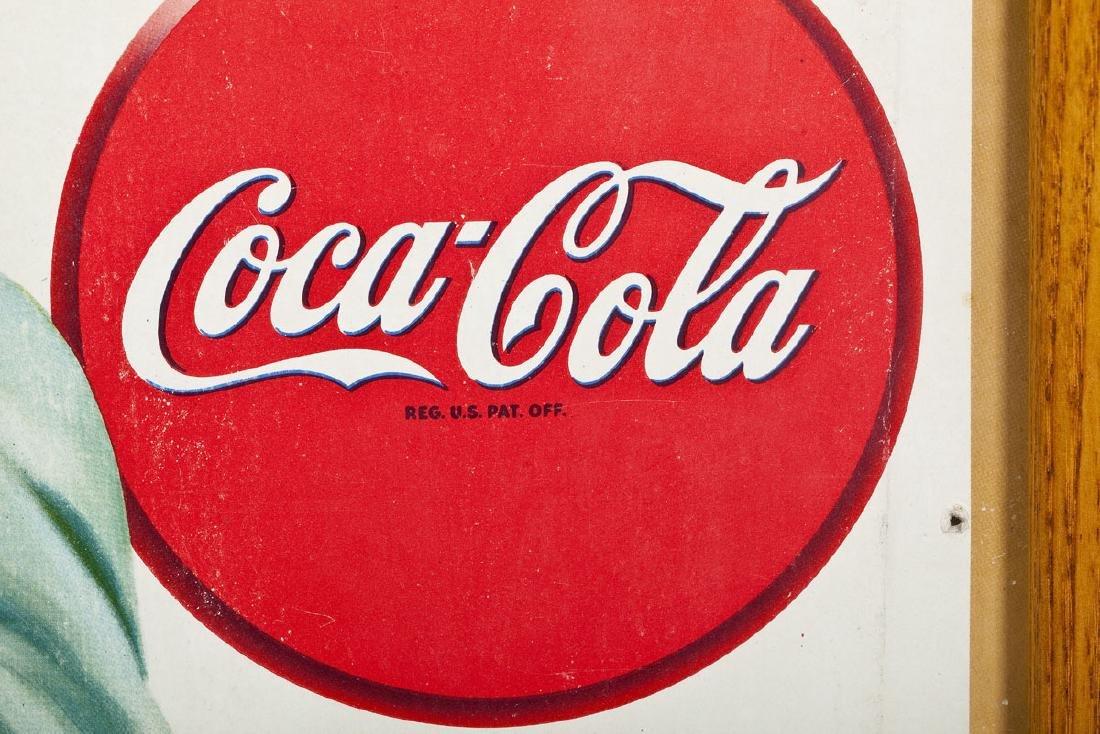 1946 Coca-Cola Poster Right Off The Ice - 2