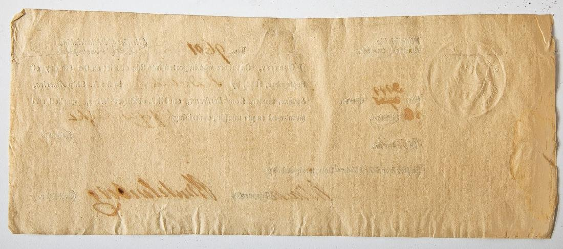 1804 Peter Muhlenberg Signed Document - 2