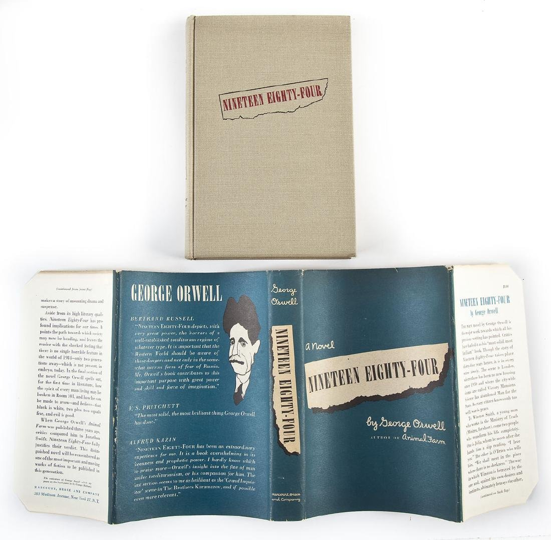 1984 by George Orwell 1949 Edition w/DJ - 2