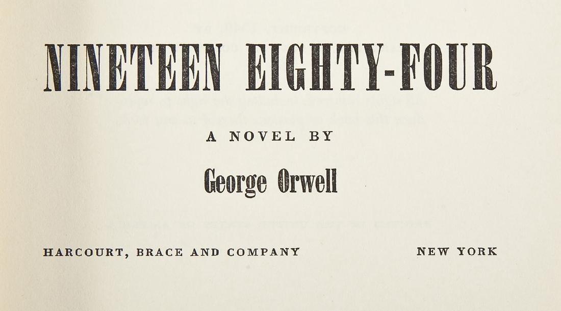 1984 by George Orwell 1949 Edition w/DJ - 3