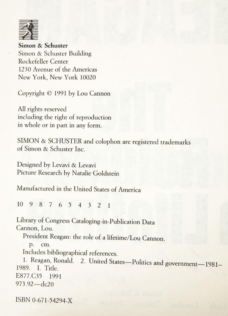 5 President Ronald Reagan Volumes - 10