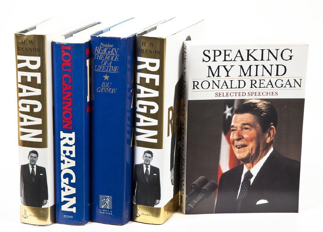 5 President Ronald Reagan Volumes