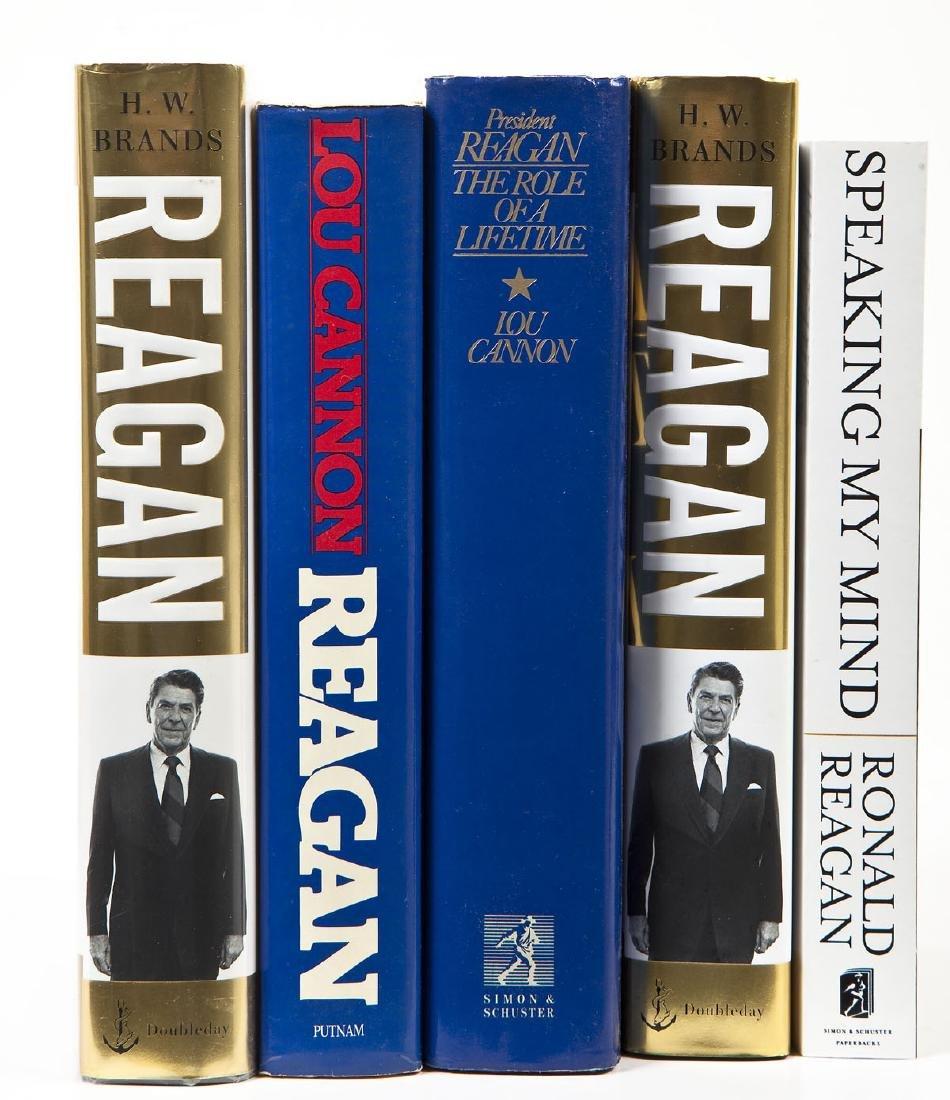 5 President Ronald Reagan Volumes - 2