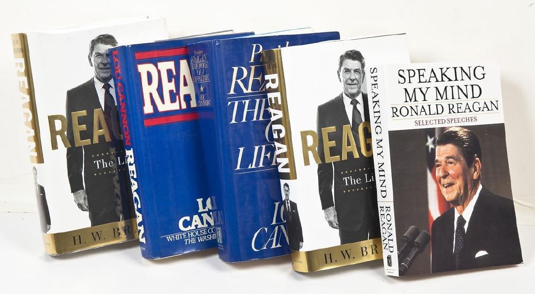 5 President Ronald Reagan Volumes - 3