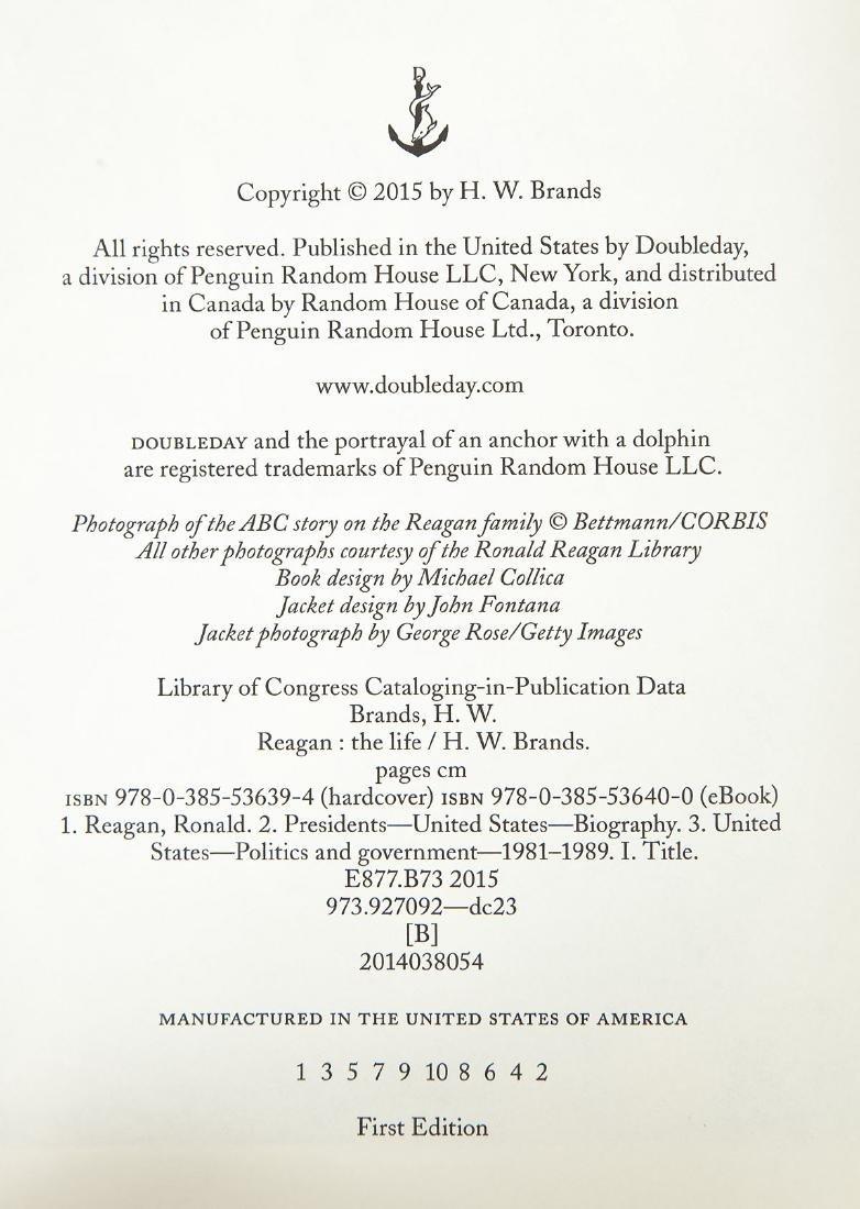5 President Ronald Reagan Volumes - 7