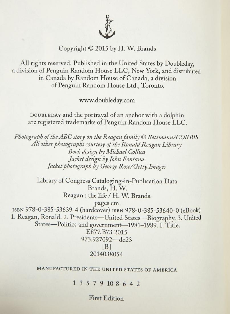 5 President Ronald Reagan Volumes - 8