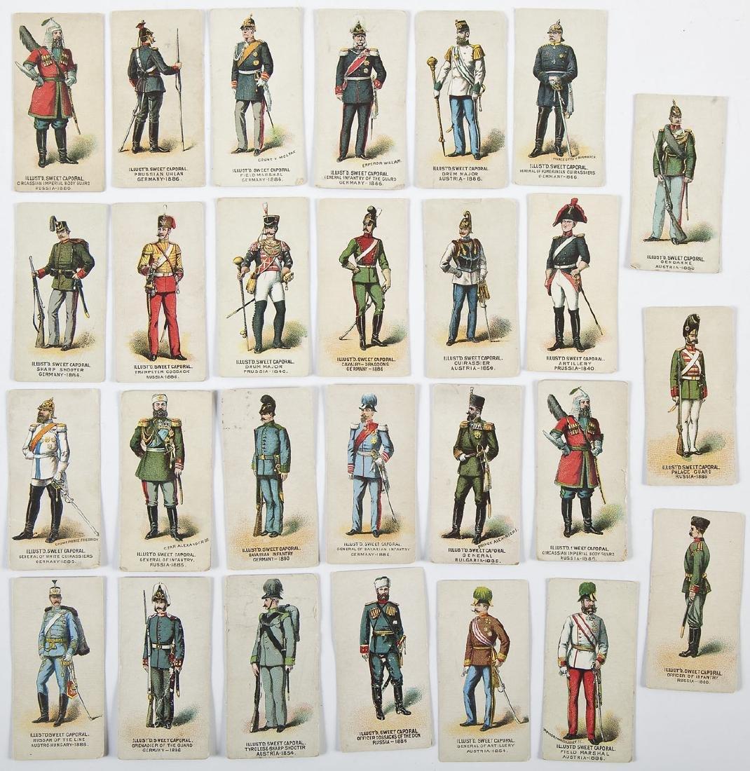 27 Kinney Tobacco Company Military Cards