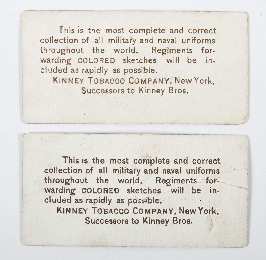 27 Kinney Tobacco Company Military Cards - 4