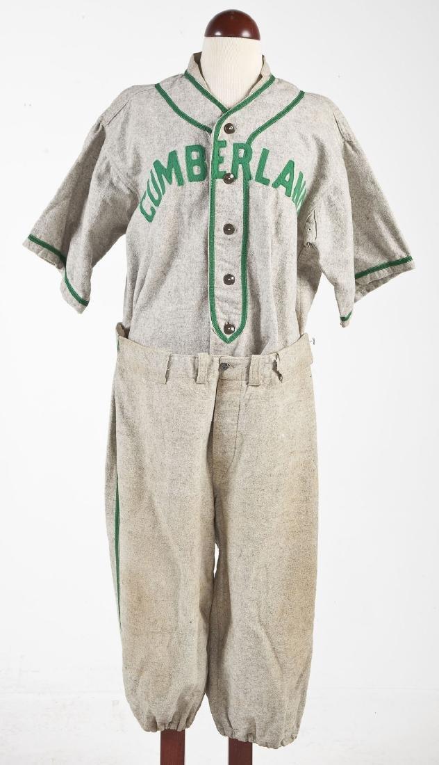 Vintage United Gasoline Wool Baseball Uniform