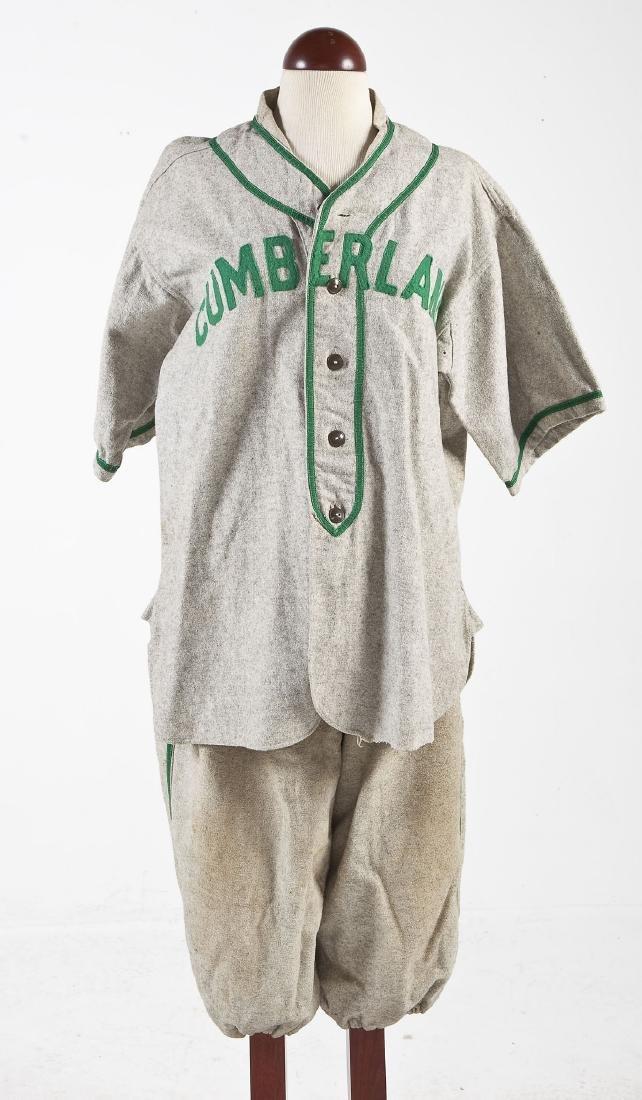 Vintage United Gasoline Wool Baseball Uniform - 5