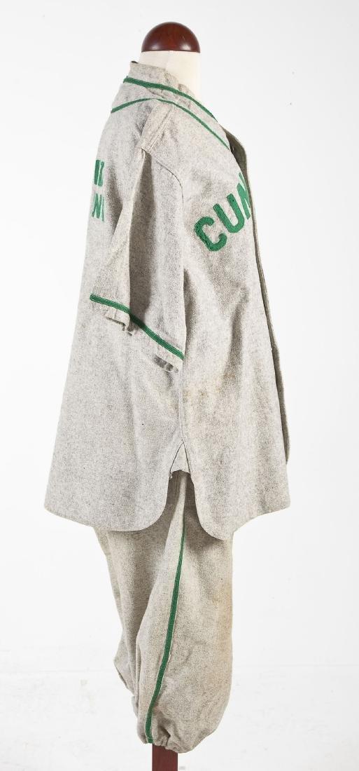 Vintage United Gasoline Wool Baseball Uniform - 6