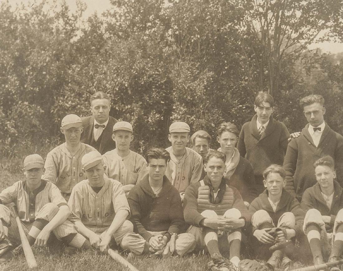 4 Circa 1920s Baseball Photographs - 3