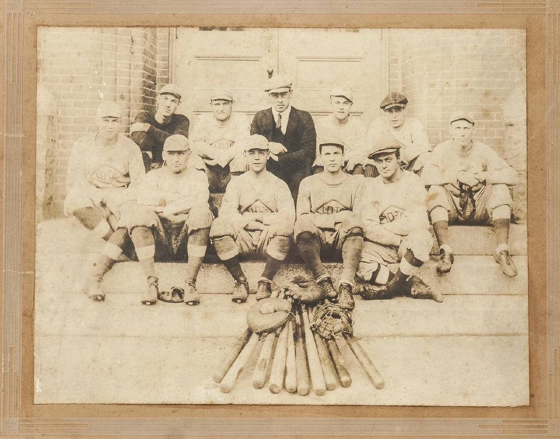 4 Circa 1920s Baseball Photographs - 4