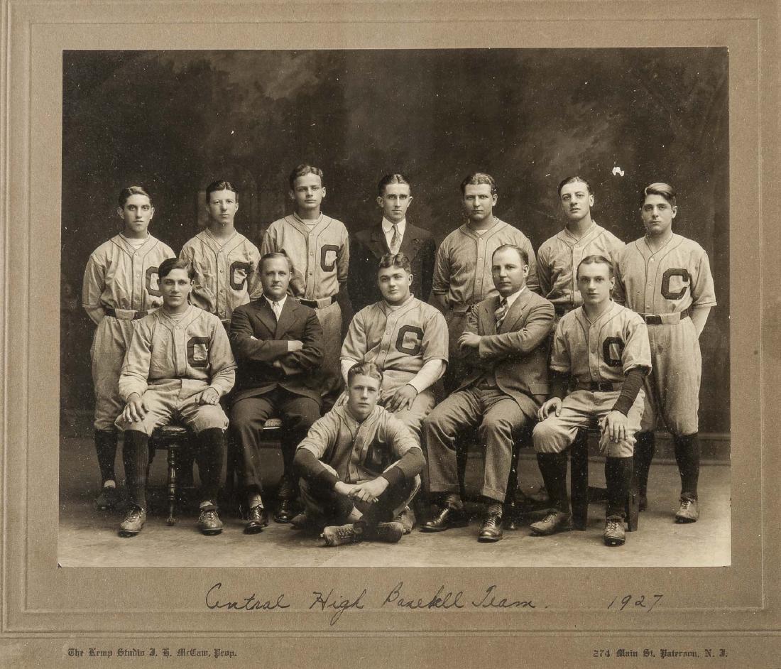 4 Circa 1920s Baseball Photographs - 5