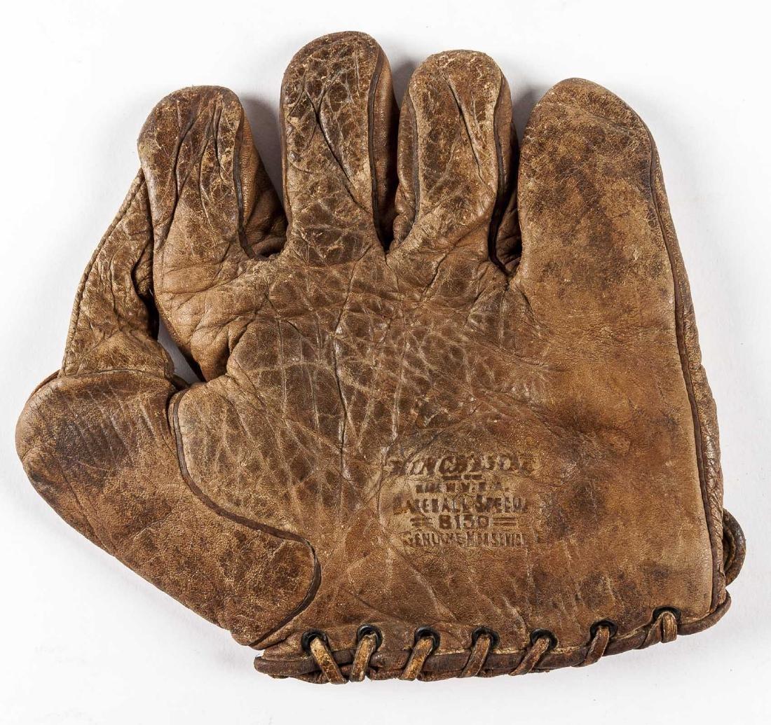 """1920s Winchester 1"""" Web Baseball Glove"""