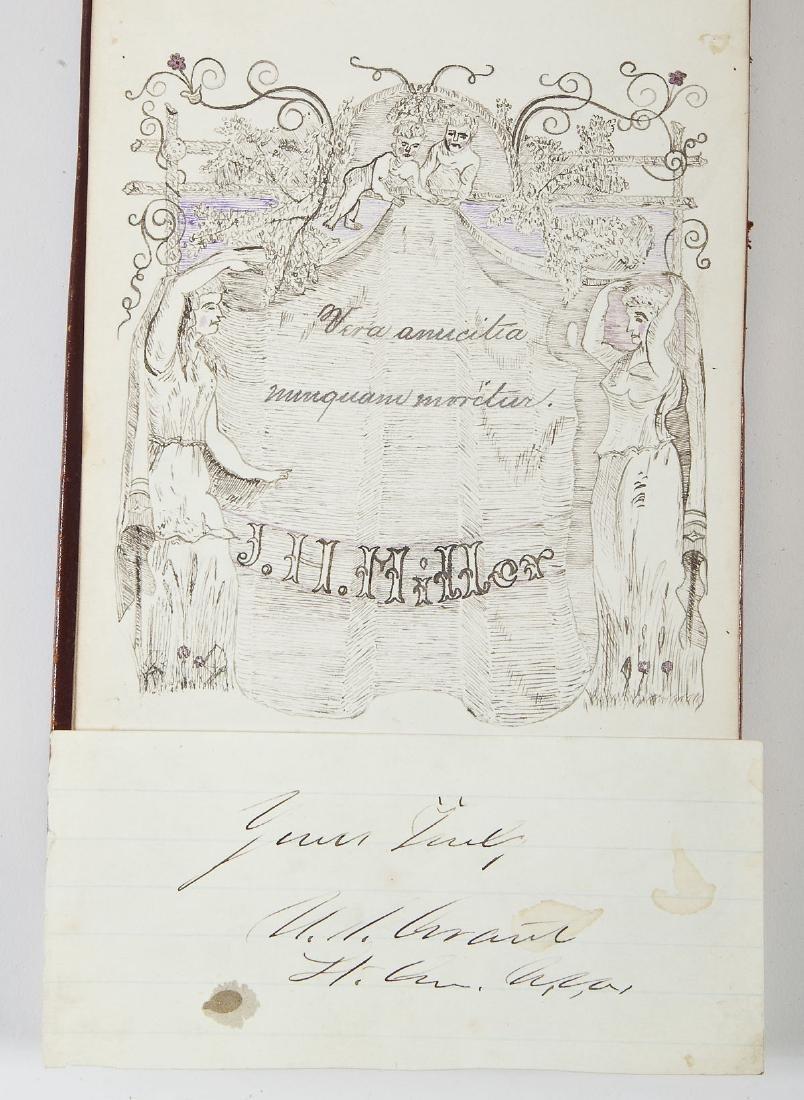 Goho Family Autograph Album Incl Ulysses Grant