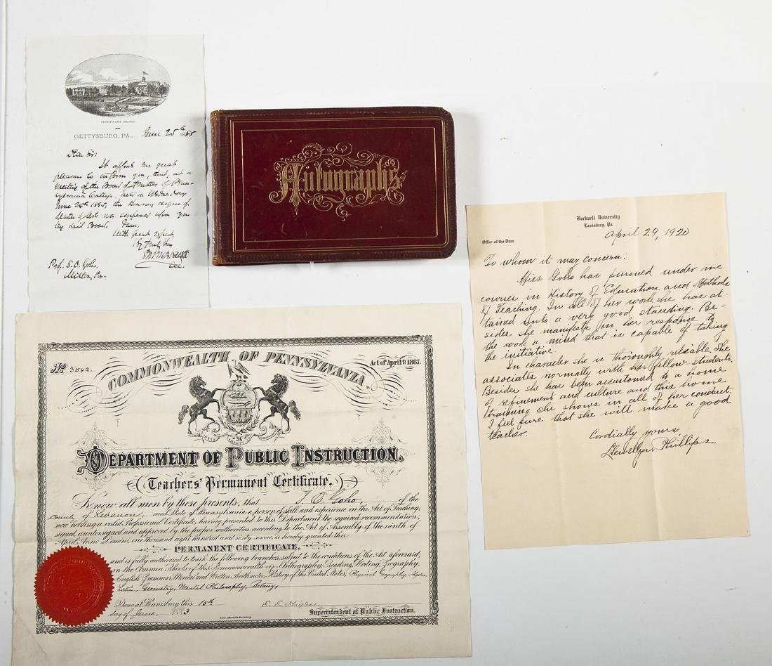 Goho Family Autograph Album Incl Ulysses Grant - 2