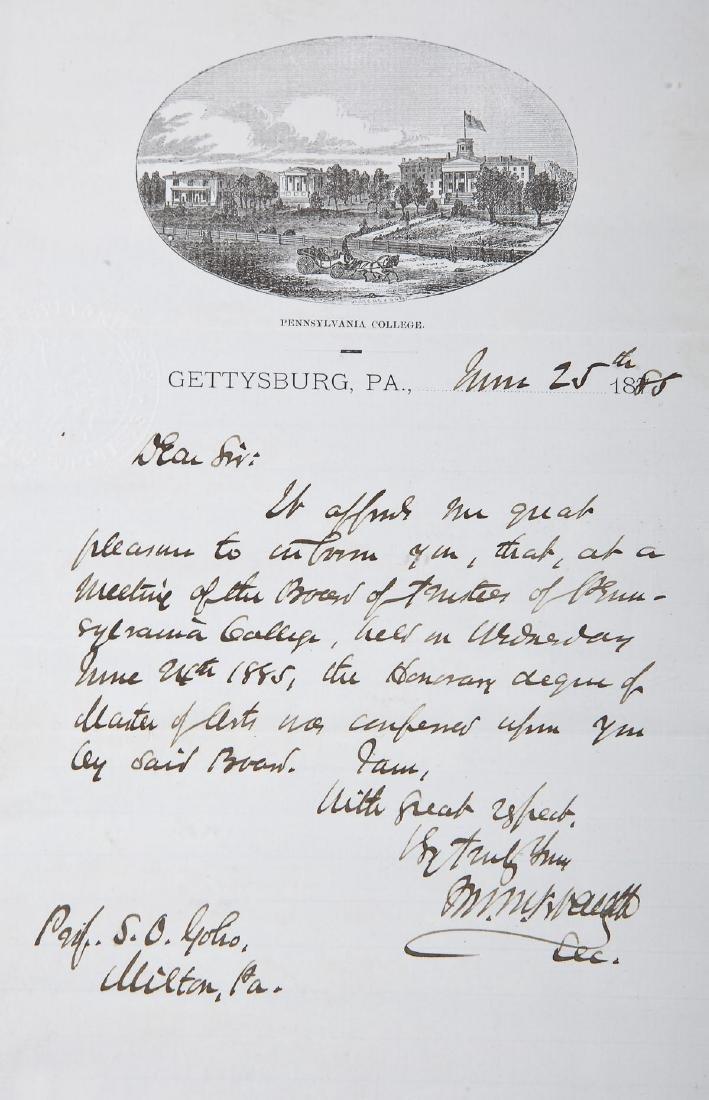 Goho Family Autograph Album Incl Ulysses Grant - 3