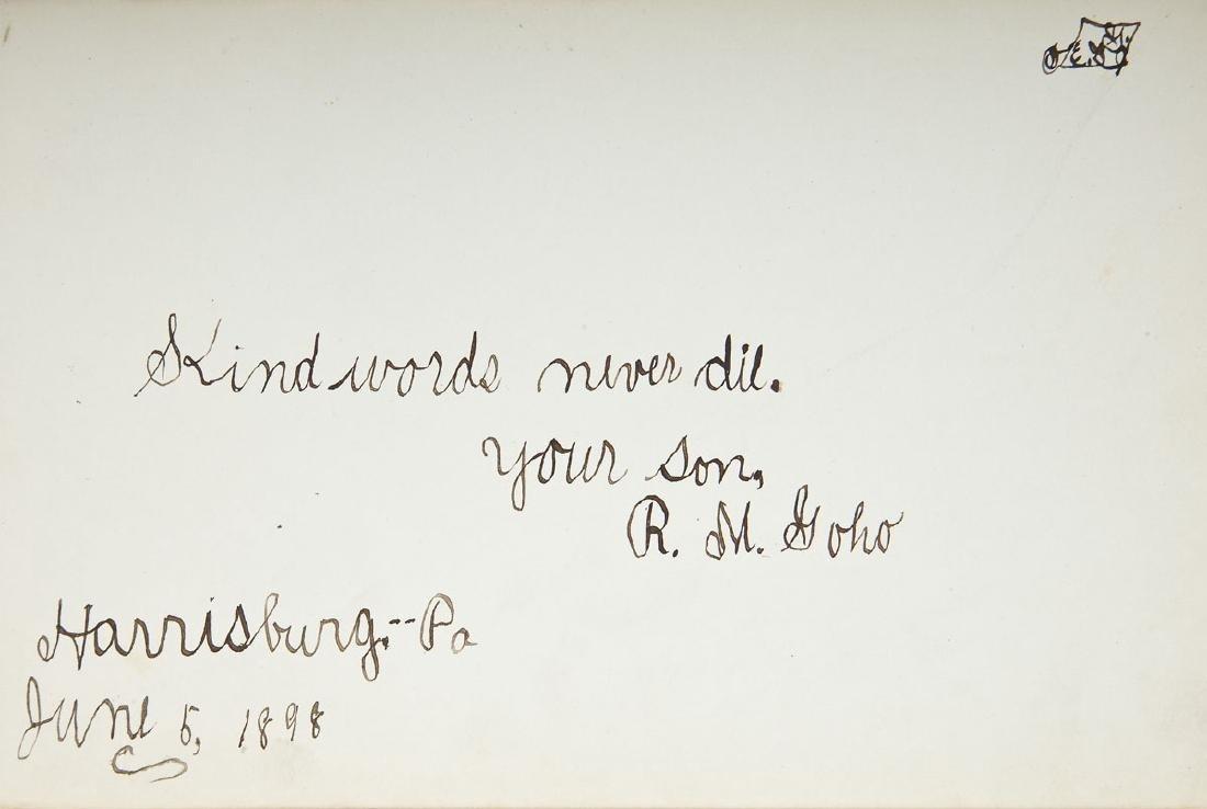 Goho Family Autograph Album Incl Ulysses Grant - 5