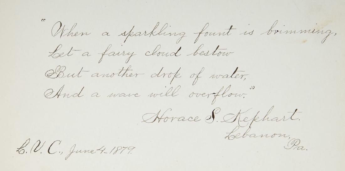 Goho Family Autograph Album Incl Ulysses Grant - 7