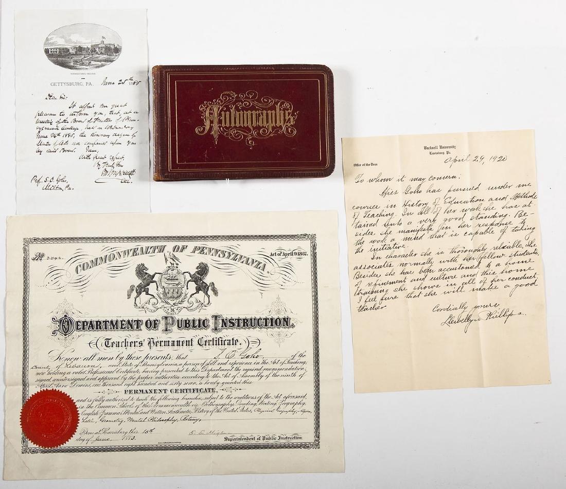 Goho Family Autograph Album Incl Ulysses Grant - 9