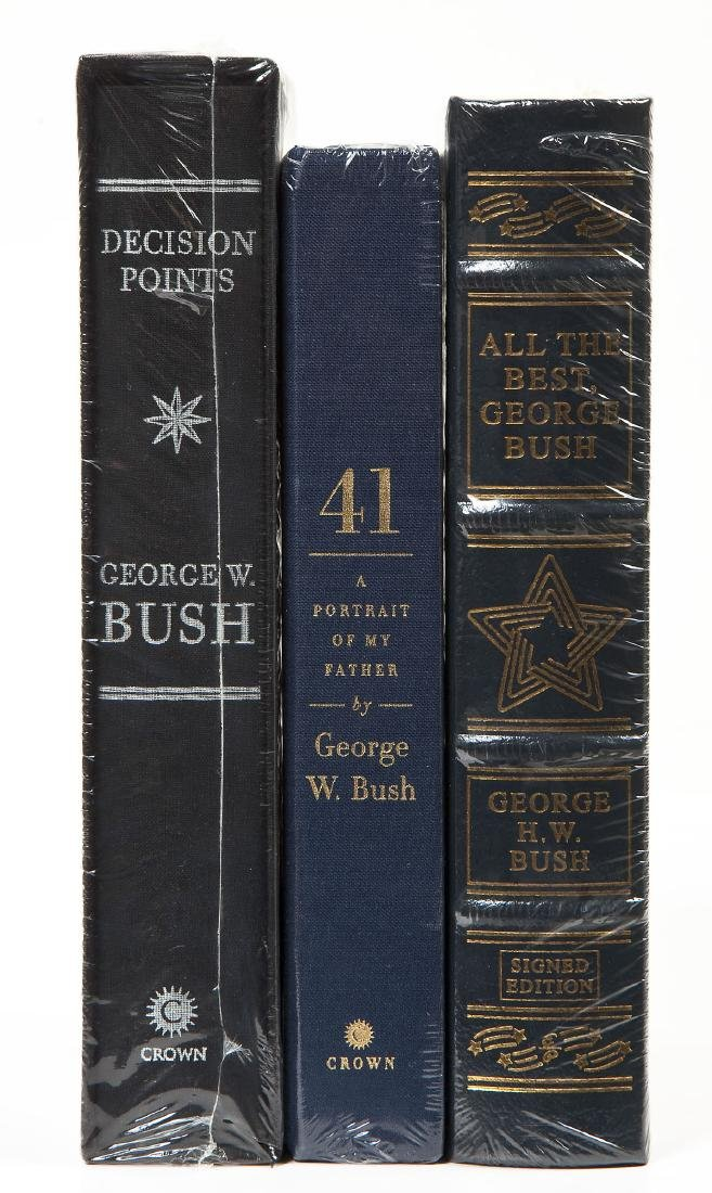 3 President George Bush Signed Books Incl 41 - 3
