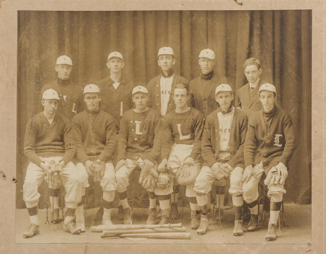 5 Circa 1910s Baseball Photographs incl HA - 2