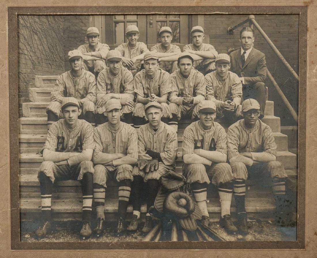 5 Circa 1910s Baseball Photographs incl HA - 4