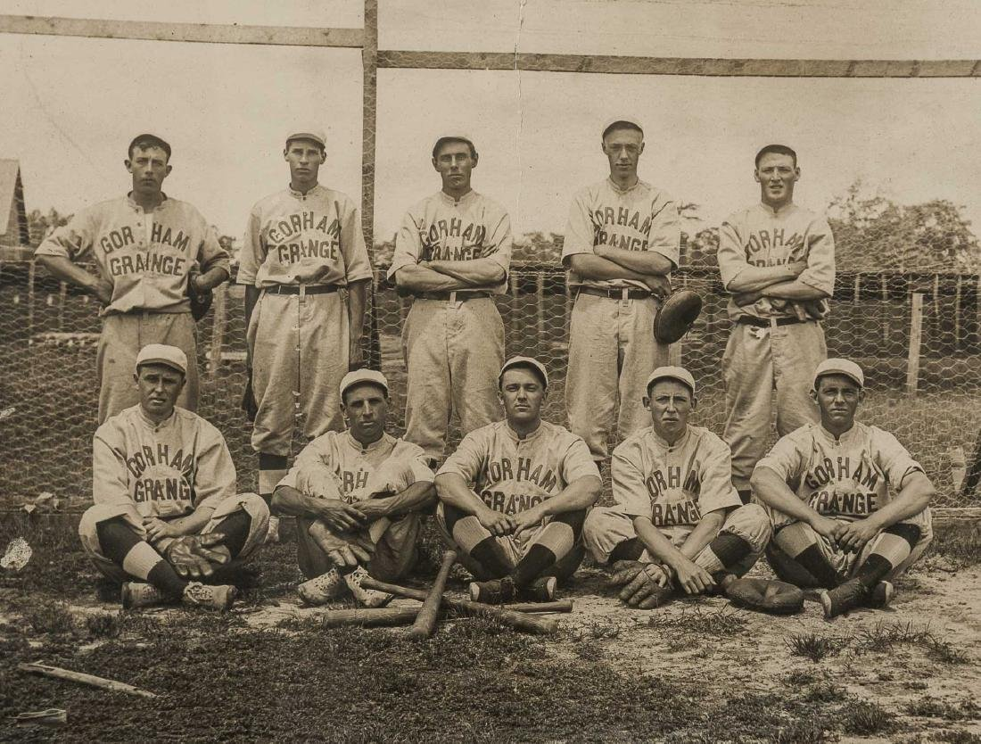 5 Circa 1910s Baseball Photographs incl HA - 5