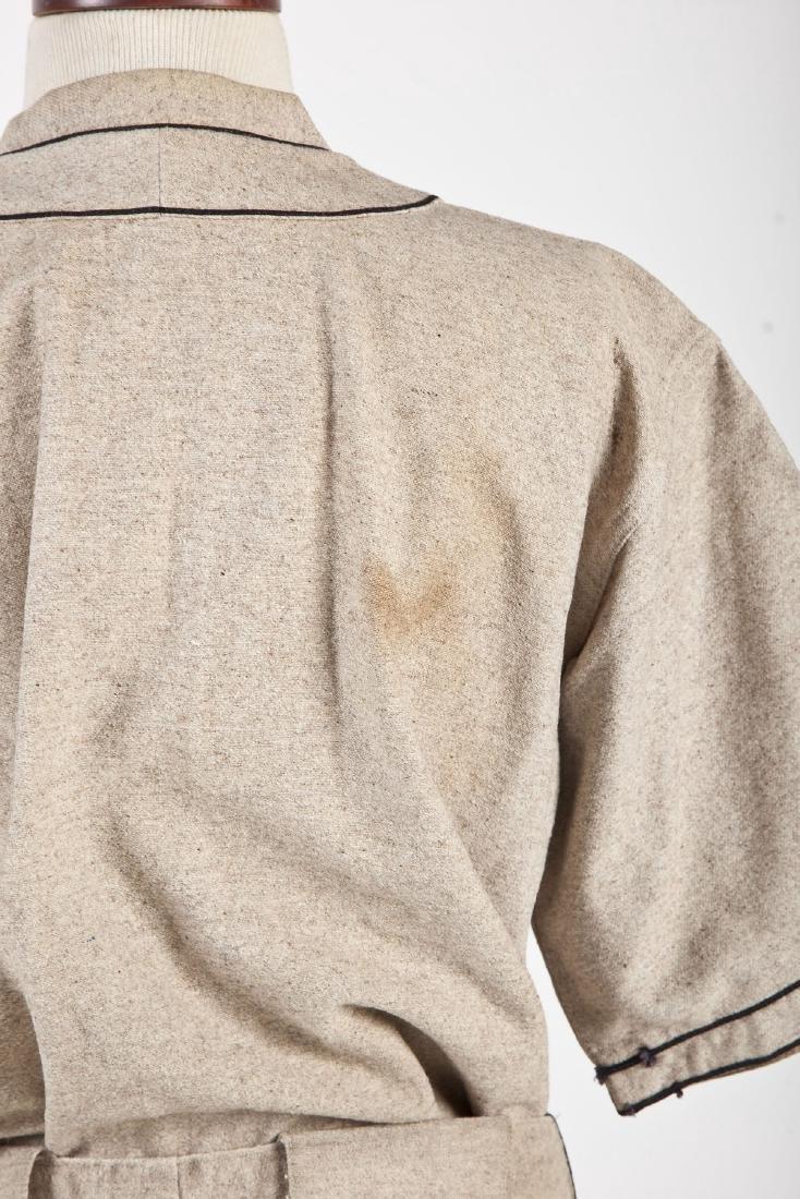 Vintage Indians Wool Baseball Uniform & Mitt - 5