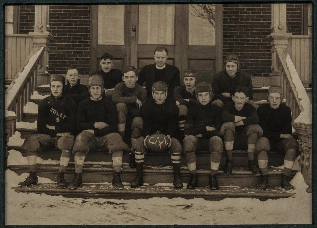 4 Football Photographs incl Peddie School - 2