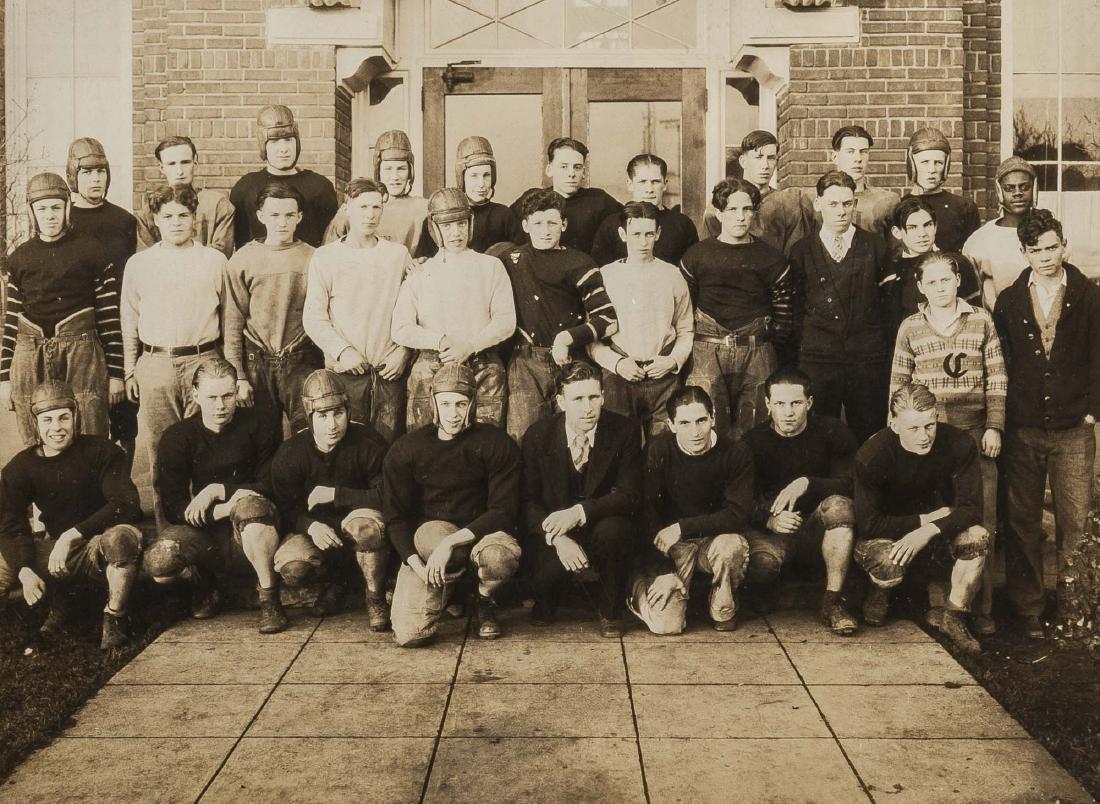4 Football Photographs incl Peddie School - 3