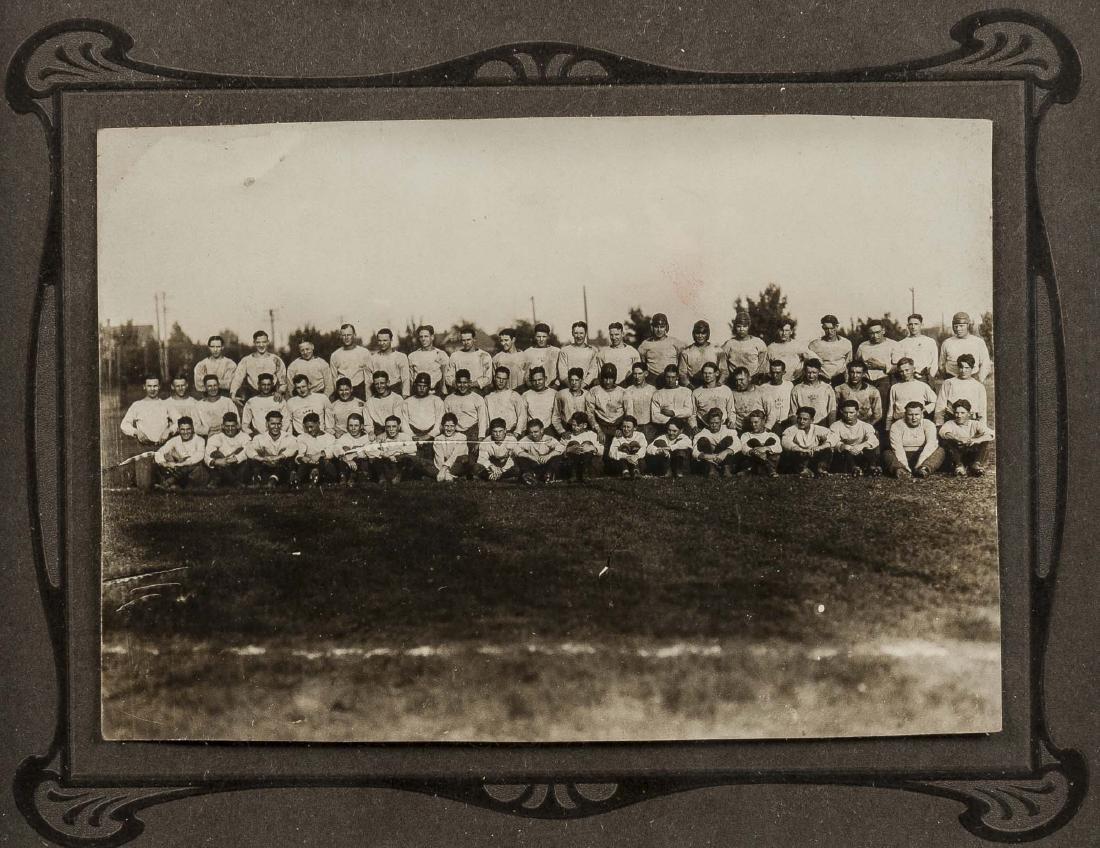 4 Football Photographs incl Peddie School - 4