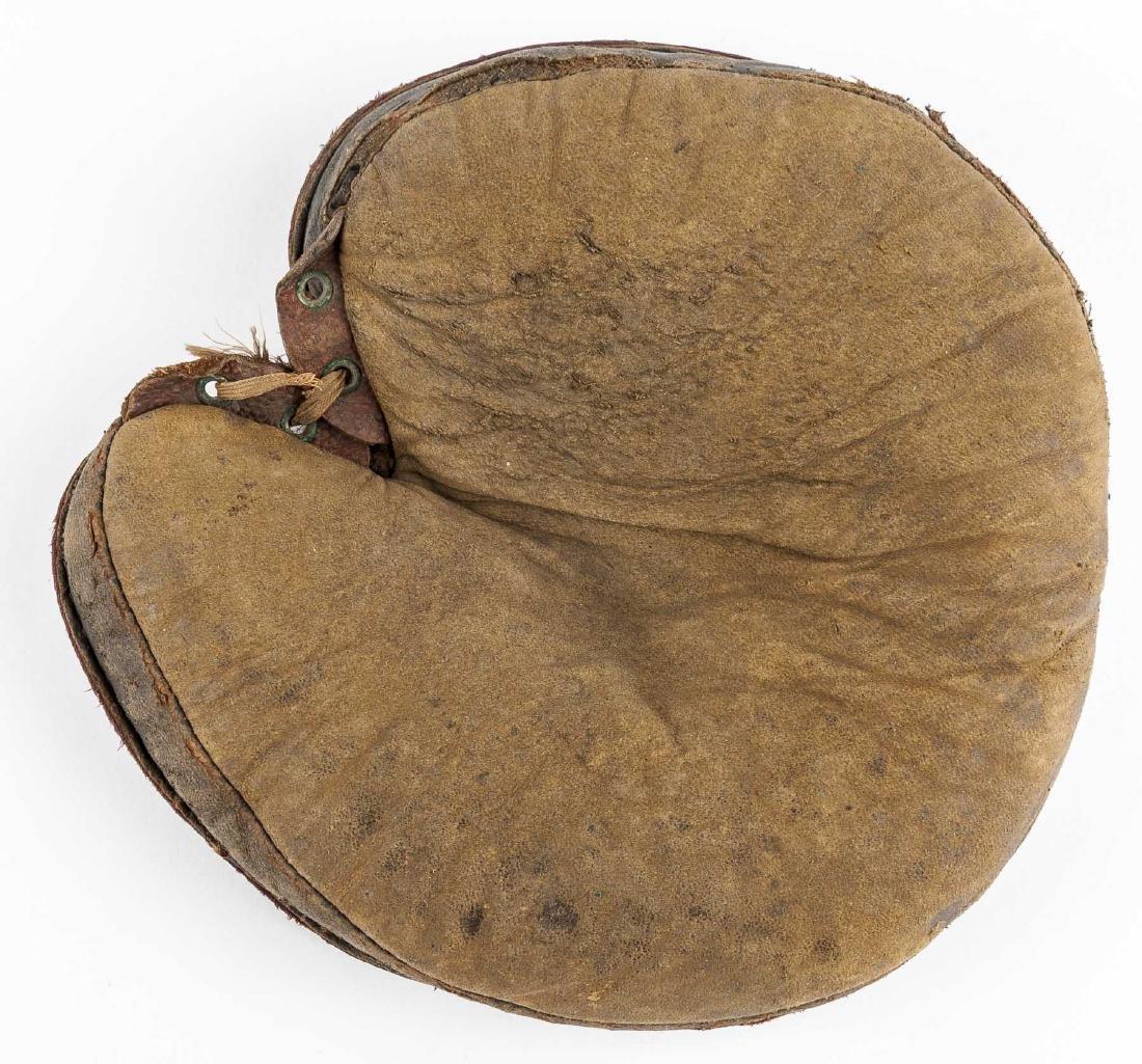 1870's Grommet Back Catcher's Mitt