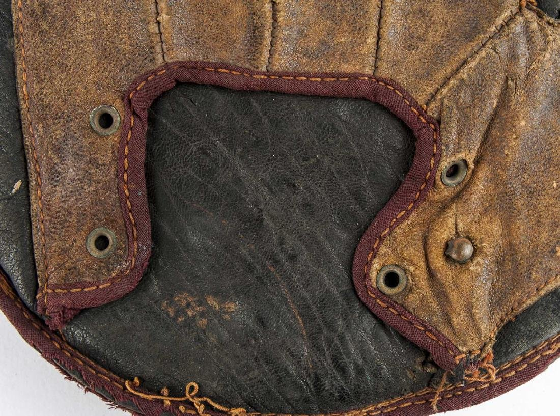 1870's Grommet Back Catcher's Mitt - 4